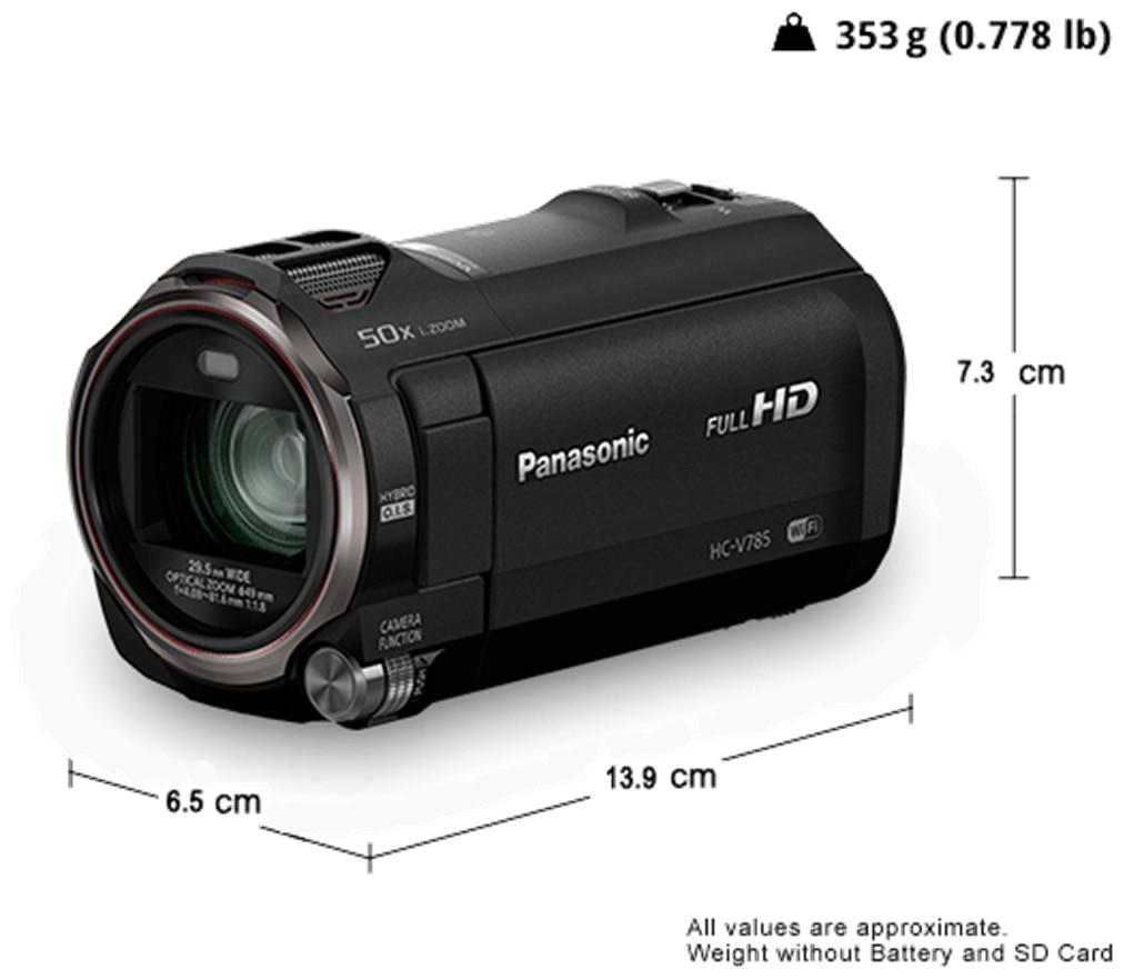 Panasonic HC-V785 HD Camcorder (Black)