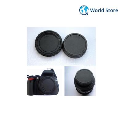 Rear Lens Cap Cover Body Cap For All Nikon AF AF-S DSLR SLR Lens Dust Camera Image