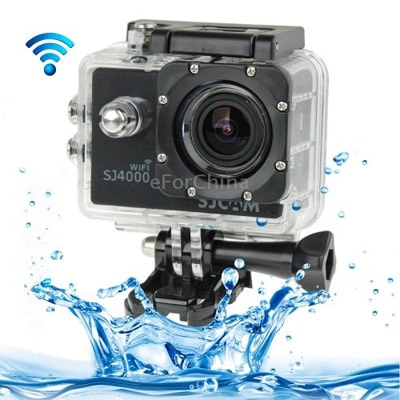 SJCAM SJ4000 Wifi Diving Bicycle 12 MP Sports & Action Camera (Black)-accessories