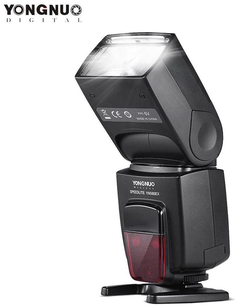 YONGNUO YN585EX P-TTL Wireless Speedlite Flash Light GN58 HSS 1/12000s SP S1 S2 Slave AF-assist Rear Curtain SYNC LCD Screen for Pentax K-1 K-S1 K-S2 K-3 K-3II K-70 K-50 DSLR Camera