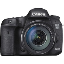 Canon EOS 7D Mark II Kit (EF-S18-135 mm f3.5-5.6 IS STM) (with 135 mm Canon EF Mount Lens) 20.2 MP DSLR Camera (Black)