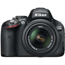 Nikon D5100 (With AF-S 18-55 mm VR Lens) 16.2 MP DSLR Camera (Black)