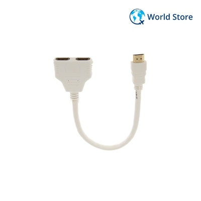 1080P HDMI Port Male to Female 1In 2 Out Splitter...