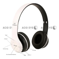 Acid Eye P47 Headphones (White)