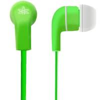 Amkette Trubeats Atom X10 Wired In-The-Ear Earphone (Green)