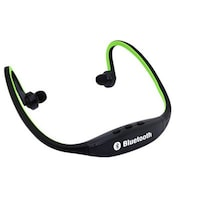 Anti Tank bs19 wireless bluetooth headphone green