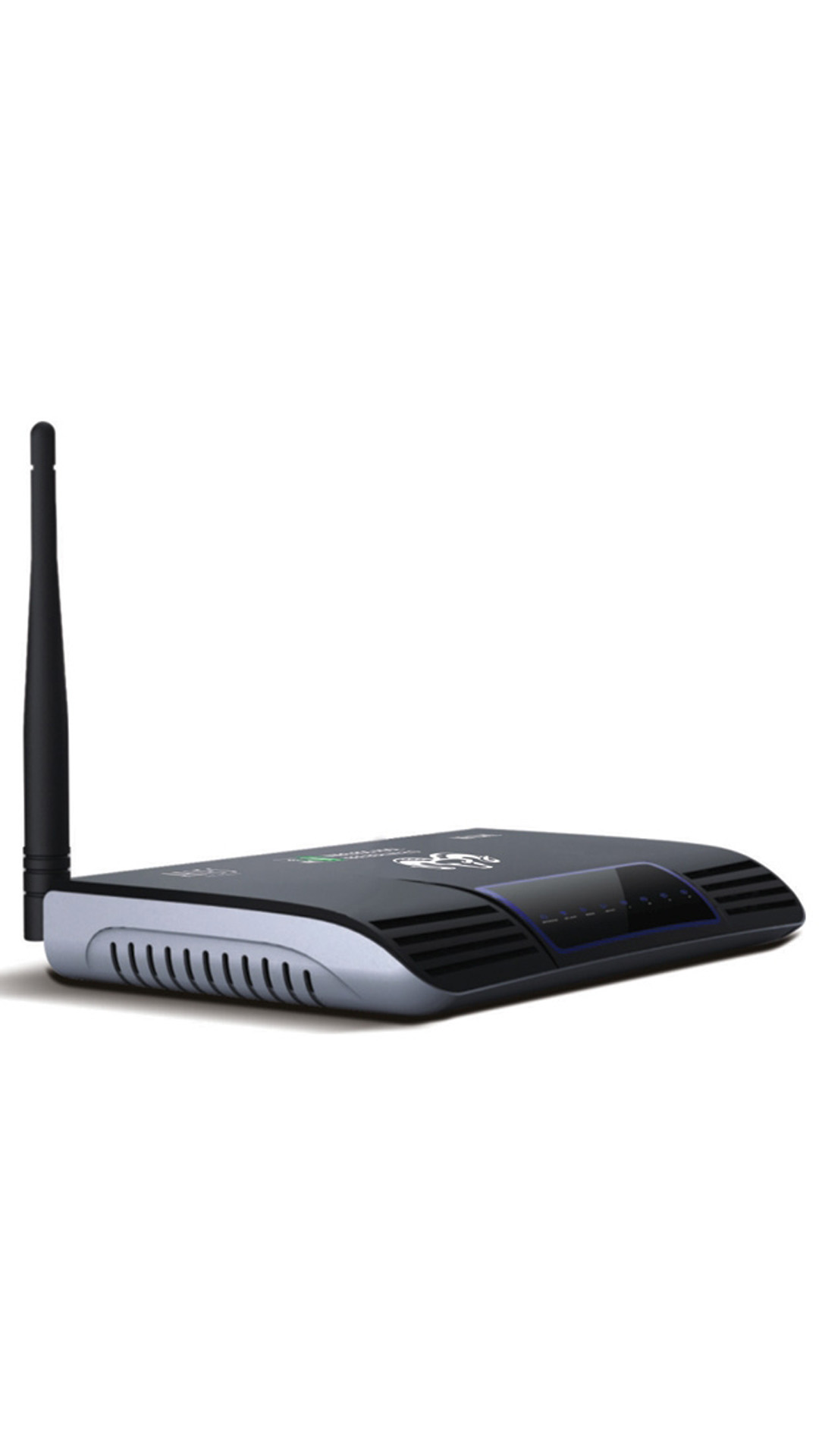 Aries Networks AWR-1104-AN1 150 Mbps Wireless with Modem Router (Black & Silver)
