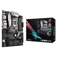 Asus B250F Strix Gaming - ROG - LGA1151 - 7th Generation MotherBoard (DDR4 Upto 64GB 2400+, RGB Aura, 3D Printing, Dual M.2, Full ATX Board)