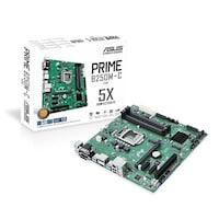ASUS PRIME B250M-C/CSM Commercial Series micro-ATX Motherboard, Built for 24/7 operation with BIOS management ETC