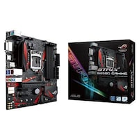 ASUS ROG STRIX B250G GAMING LGA1151 DDR4 HDMI DVI M. 2 Micro-ATX Motherboard with USB 3. 1