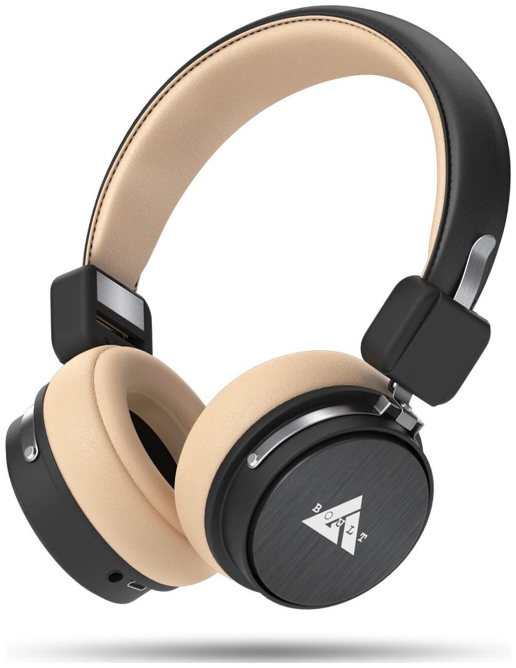 Boult Audio ProBass Flex Over-Ear Wireless Bluetooth Headphones (Black)