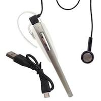Callmate CM1000 Mono Headset (Silver & White)