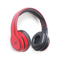 Callmate SMSASH006HR On-the-ear Headphone (Red)