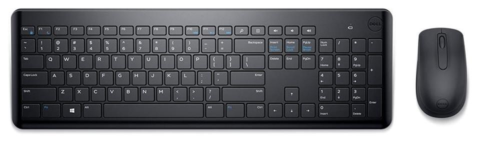 Dell KM117 Wireless Keyboard Mouse Set (Black)