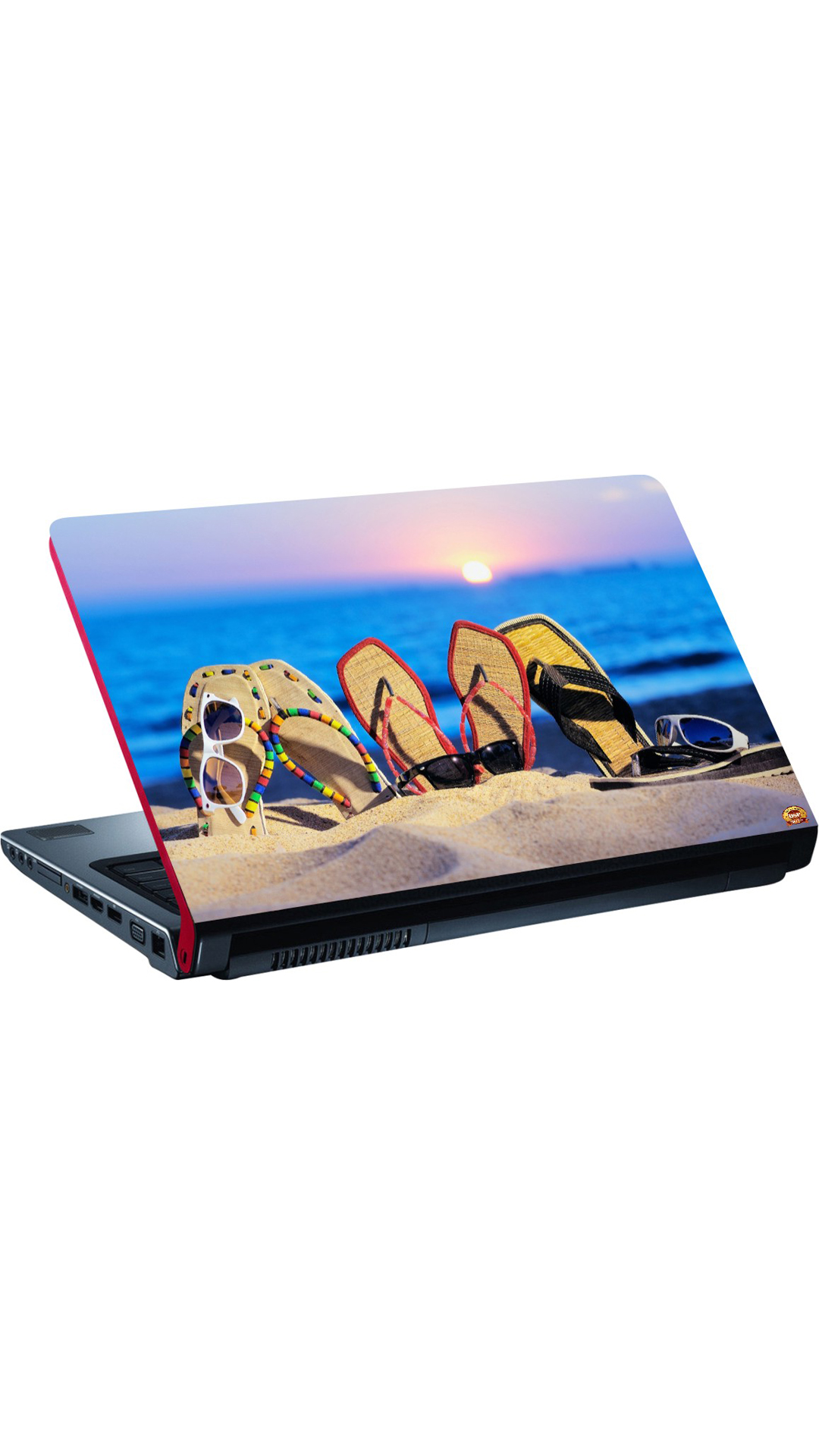 DSP BAZAR LAPTOP SKIN FOR 39.62 CM (15.6) LAPTOP (MULTI COLOR)