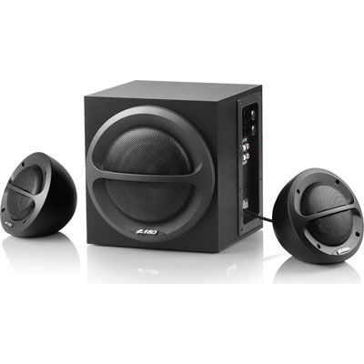 F&D A110 Wired 2.1 Channel Multimedia Speaker (Black)