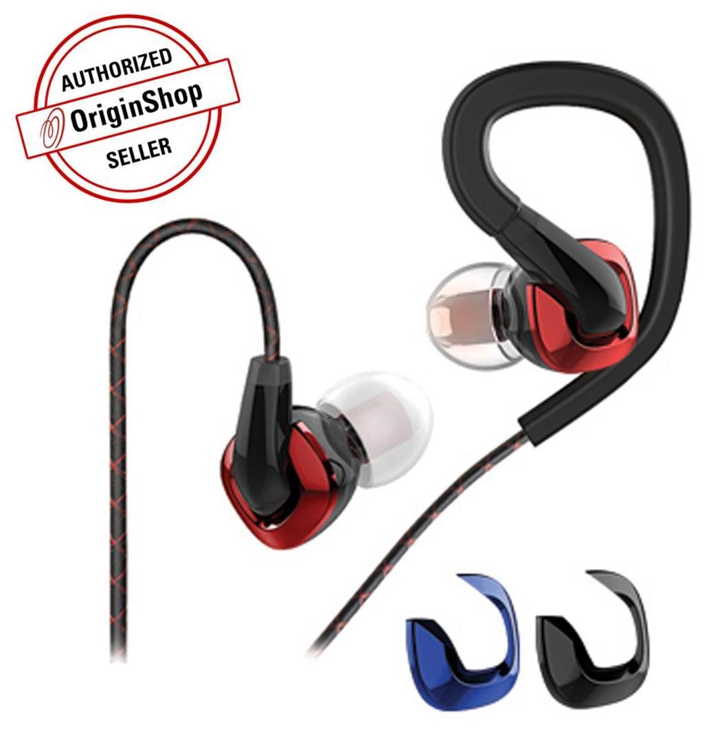 FiiO F3 Dynamic In-Ear Monitor Earphones with Mic & Smartphone Controls (Black)