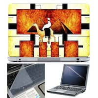 FineArts Abstract Series 1029 Laptop Skin For 15.6 Inch Laptop With Key Guard & Screen Protector