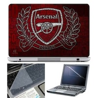 FineArts Arsenal Coco Laptop Skin For 15.6 Inch Laptop With Key Guard & Screen Protector