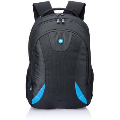 HP Premium 15 Inch Laptop Backpack (Black & Blue)