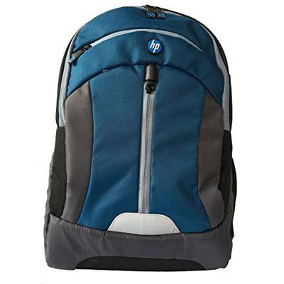 "HP Premium Laptop BackPack 15.6"" for Unisex (Blue & Grey)"
