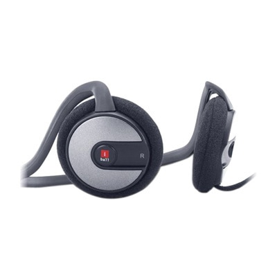 IBall Stereo Headphone With Mic Bounce 03 (Black)