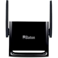 iBall WRA300N3GT 300 Mbps WiFi Router (Black)