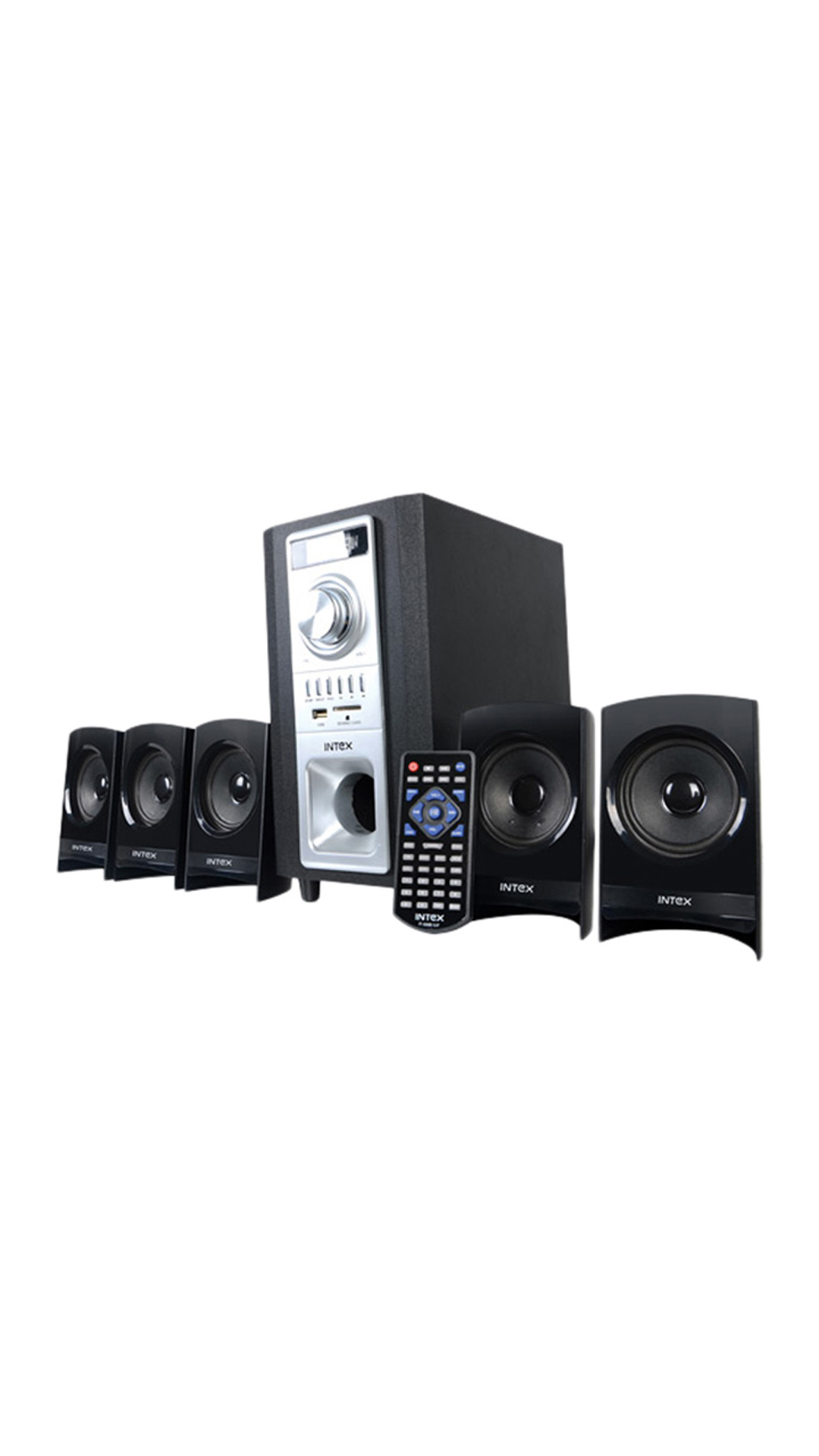 Intex IT-501 SB SUF 5.1 Multimedia Speakers