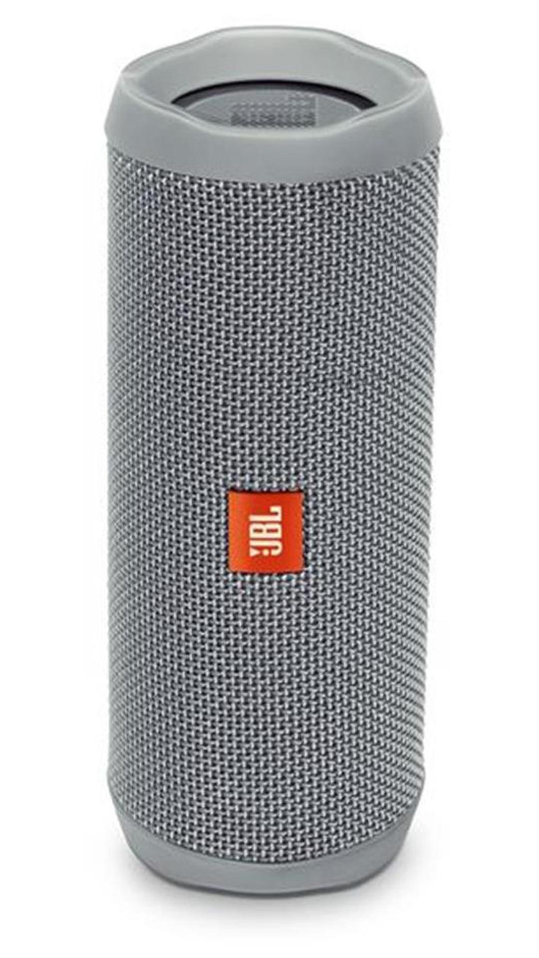 JBL Flip 4 Bluetooth Speaker (Grey)