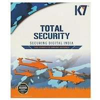 K7 Total Security 5 PC 1 Year New Slim Pack 2016
