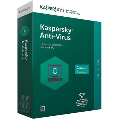 Kaspersky Anti Virus 2015 (1 PC/3 Years)