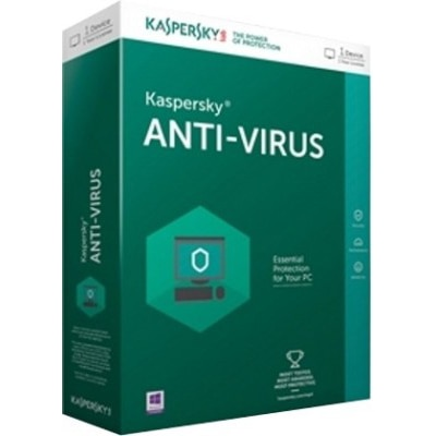 Kaspersky Anti- Virus 1 Device/ 3 years (Latest Version)