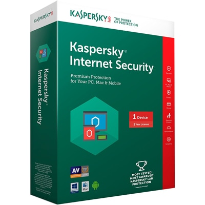 Kaspersky Internet Security 1 Device/ 3 years (Latest Version)
