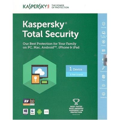 Kaspersky Pure Total Security Protection 1 Year 1 User