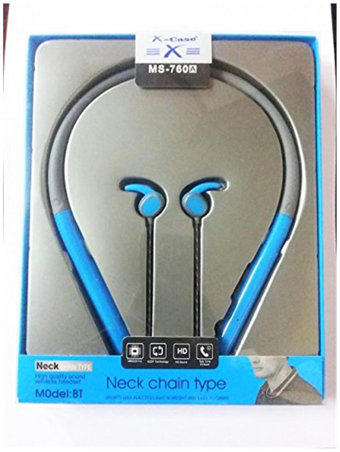 Mm Mm-bths-084-blue Bluetooth Headsets ( Blue )