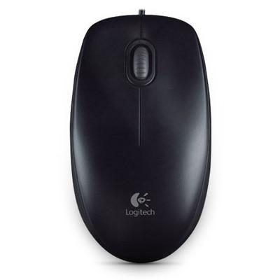 Logitech M100r USB Mouse (Black)