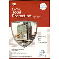 Mcafee Total Protection (1 Pc/1 Year)