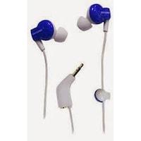 Memorex IE350 Wired In-the-ear Earphone (Blue)