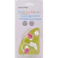 Memorex IE350 Wired In-the-ear Earphone (Pink)