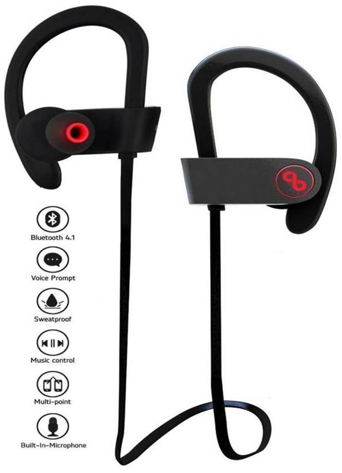 OCA2Z Earphones QC 10 (Black)