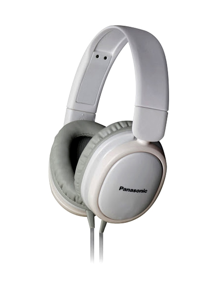 Panasonic RP-HX250E-W Over-the-ear Wired Headphone (White)
