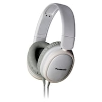 Panasonic RP-HX250E-W Over-the-ear Wired Headphone (White)