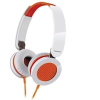 Panasonic RP-HXS200E-D Wired Over Ear Headphone (Orange & White)
