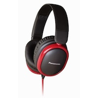 Panasonic RP-HBD250 Over Ear Wired Headphones (Black)