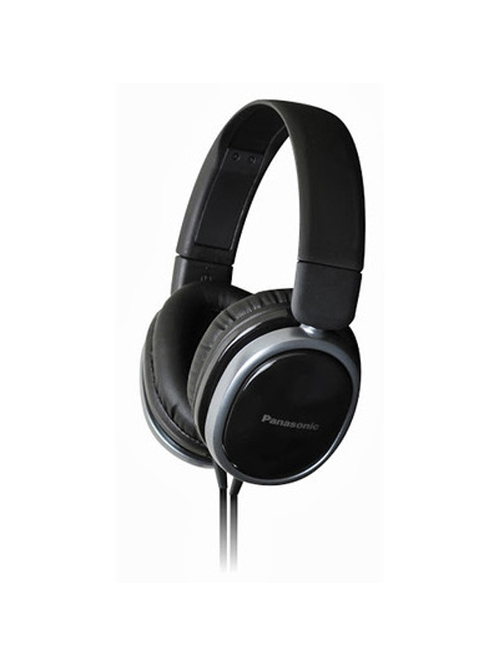 Panasonic RP-HX250E Over Ear Wired Headphone (Black)