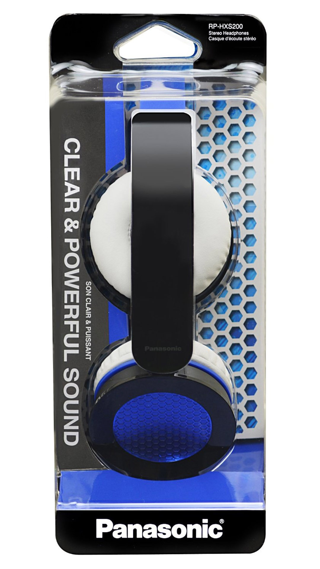 Panasonic RP-HXS200ME-A Wired Over Ear Headphone (Blue & Black)