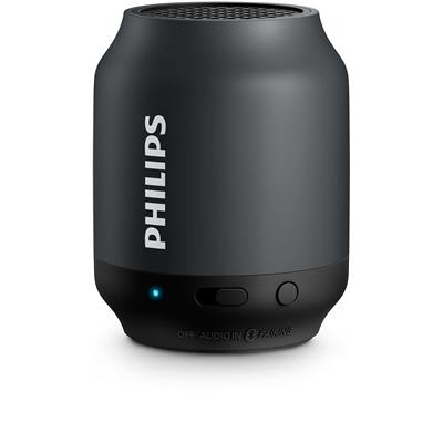 Philips BT50B Portable Bluetooth Speaker (Black)
