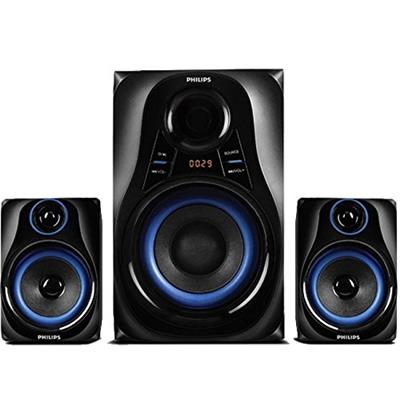 PHILIPS MMS-2580B 2.0 Channel Home Audio System