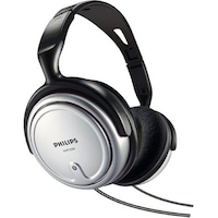 Philips SHP2500 Wired Over Ear Headphone (Black & Silver)