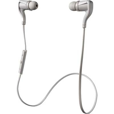 Plantronics BBTGO2-BLK W BackBeat Go 2 Stereo Bluetooth Headset With Charging Case